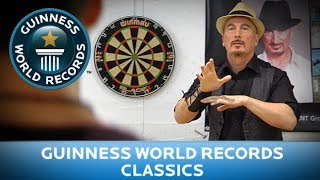 Guinness World Records Day 2013 - Most Darts Caught in One Minute