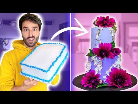 transformer-un-gâteau-à-20$-du-supermarché-en-gâteau-de-mariage-à-500$---carl-is-cooking