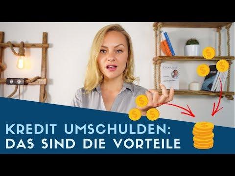 ▶ Kredit Umschulden: Das Sind Die Vorteile