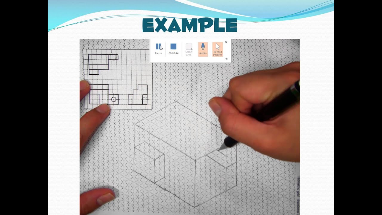 Multiview to Isometric Drawings - YouTube