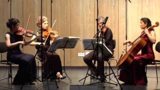 Hegel Quartett Beethoven,  String Quartet in E-flat Major, Op.74 mvts. 3,4/4