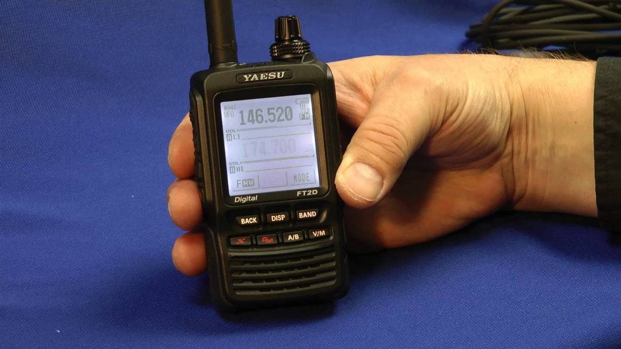 yaesu ftm 100dr and ft 2dr transceivers youtube