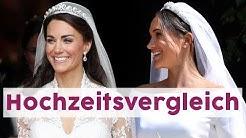 Meghan und Kate: Ihre royalen Hochzeiten im Vergleich 👰🏻