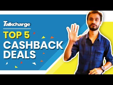 Top 5 Cashback Deals | Extra Savings | Talkcharge