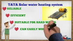 TATA Solar water heating system - By Surve Kalp Enterprises, New Delhi (www.buysolar.co.in)