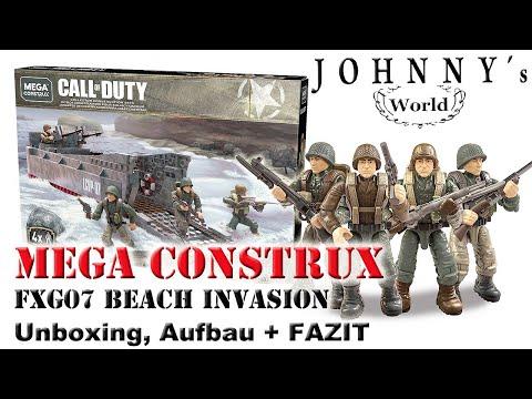 Mega Construx FXG07 Call of Duty Beach Invasion - Unboxin, Aufbau + Fazit thumbnail