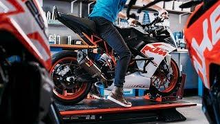 Updating my KTM RC 200 stunt bike |  RokON VLOG #33