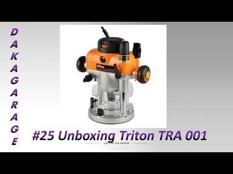 #25 UNBOXING TRITON TRA 001