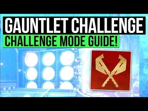 Destiny 2 | GAUNTLET CHALLENGE MODE! - How to Complete Gauntlet Challenge! (Leviathan Raid Guide)!