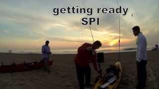 BTB Kayak fishing, Hobie Oasis, South Padre Island.