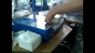 Полуавтоматический  целлофанатор ПАЦ-500 (упаковка салфеток)