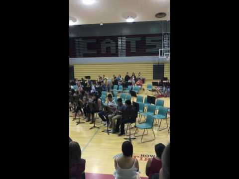 Toppenish middle school band