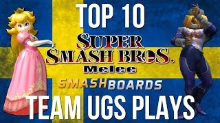 Top 10 Team UGS Plays (Armada + Aniolas) - Super Smash Bros. Melee