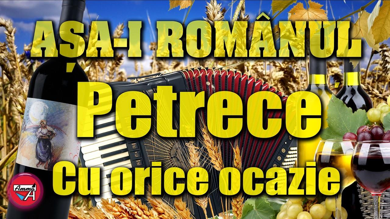 Download AŞA-I ROMÂNUL, PETRECE CU ORICE OCAZIE / MUZICĂ DE PETRECERE