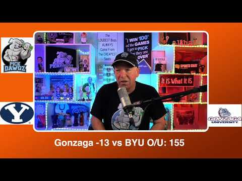 Gonzaga vs BYU 3/9/21 Free College Basketball Pick and Prediction CBB Betting Tips - WCC Final