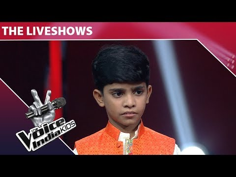 Fazil Performs on Saawan Mein Lag Gayi Aag   The Voice India Kids   Episode 15