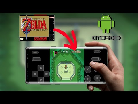 Como Baixar ZELDA - A LINK TO THE PAST Do SNES No Android! (Download)