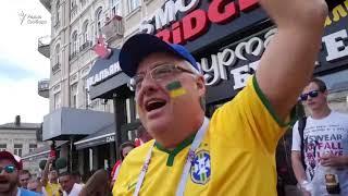 Бразильские болельщики в Ростове-на-Дону
