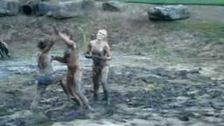 Mud Wrestling!