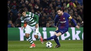 Barcelona Vs Sporting Lisbon 2-0  All Goals And Highlights    05/12/2017