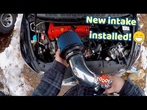 New Air Intake!