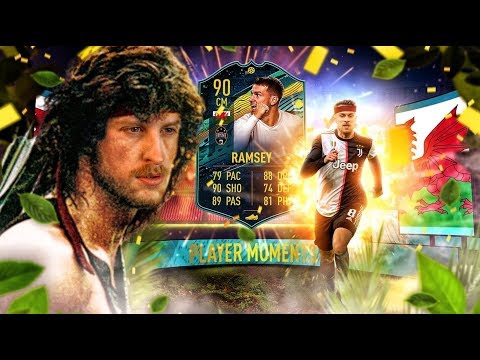 THE RETURN OF RAMBO?! 90 PLAYER MOMENTS RAMSEY PLAYER REVIEW! FIFA 20 Ultimate Team
