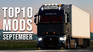 TOP 10 ETS2 MODS - SEPTEMBER 2019 | Euro Truck Simulator 2 Mods