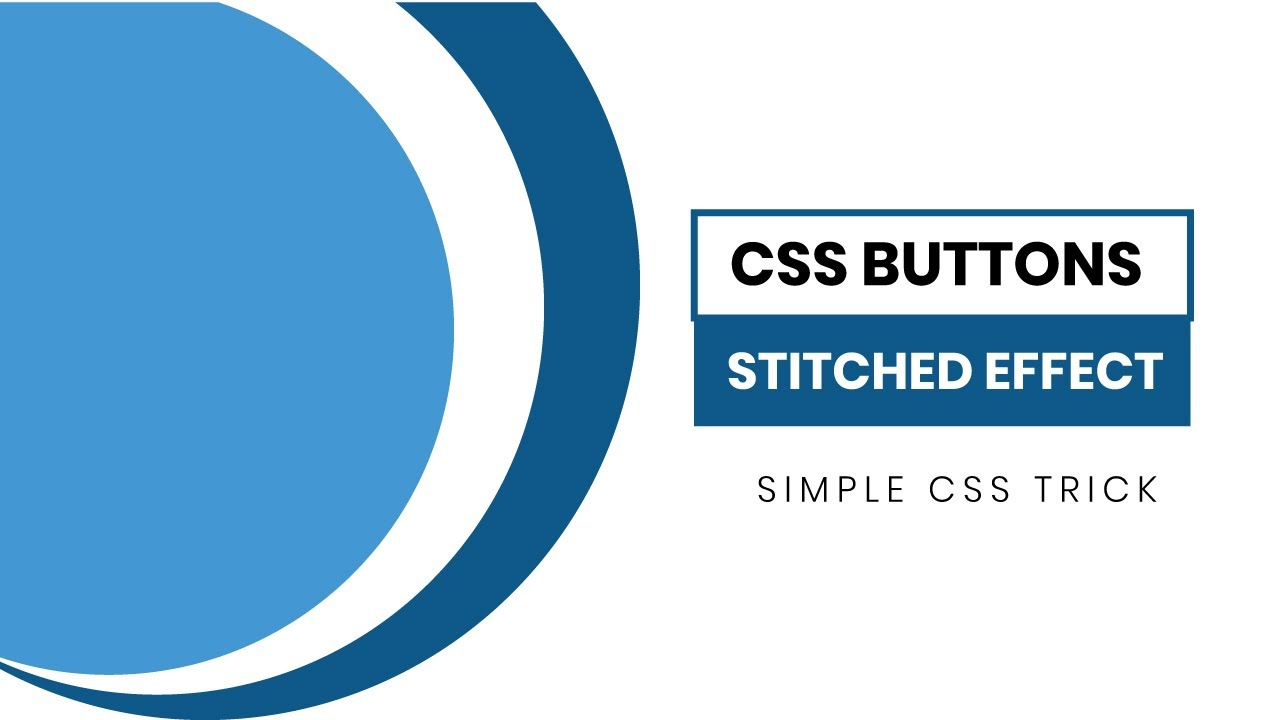 CSS Buttons with Stitched Leather Effect   CSS Tricks
