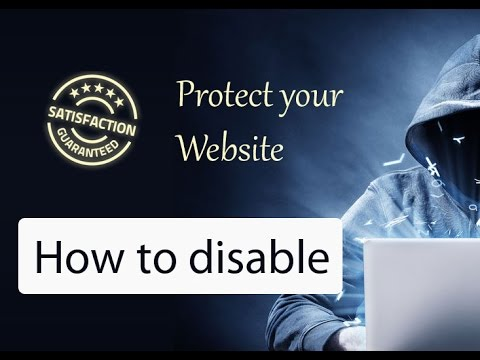 Hide my WP - How to disable it