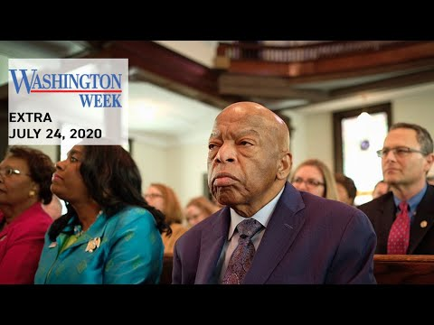 #WashWeekPBS Extra: Remembering civil rights icon Rep. John Lewis