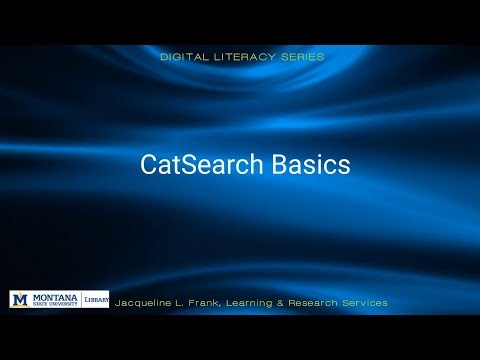 This series of instructional videos focuses on Digital Literacy topics, and is meant to prepare students and researchers for scholarship in the digital age, and can be used in many different...