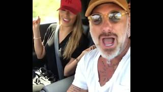 Gianluca Vacchi con Briatore e la nuova ragazza