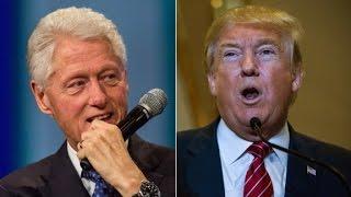 Trump takes on Bill Clinton in tweets