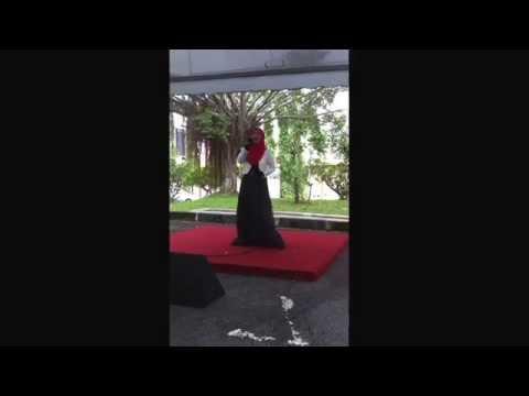 Pertandingan Karaoke Sepak Takraw KFC Utusan 2014 - Aina Husin