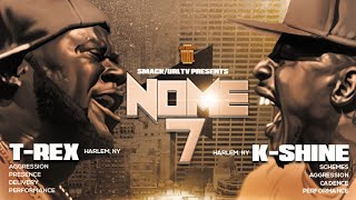 SMACK/ URL PRESENTS T-REX VS K-SHINE NOME 7 ASCENSION SUNDAY JUNE 1...