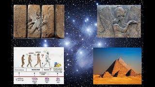 500,000 Year Timeline of Earth- Pleiades, Sirius, Anunnaki, Human Origins