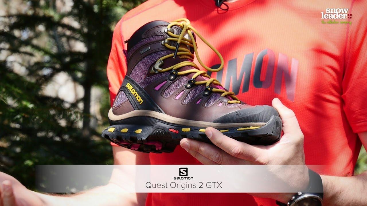 Salomon Quest Origins 2 Gtx Hiking Boot Shoe Womens