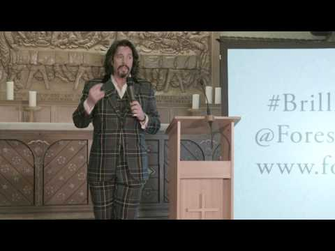 Laurence Llewelyn-Bowen speaks at the Brilliance of William Morris | Forest School