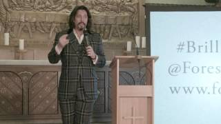 Laurence Llewelyn-Bowen speaks at the Brilliance of William Morris   Forest School