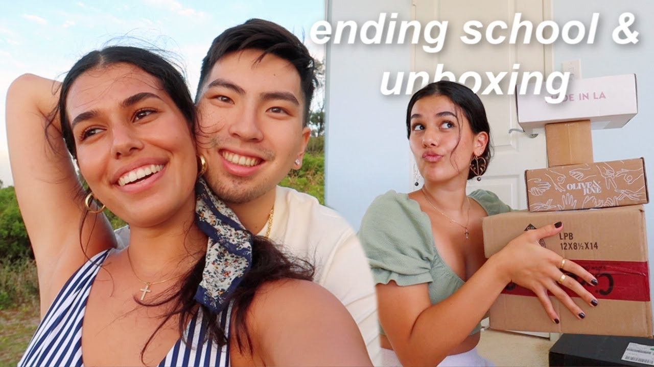 I finished school for the summer! & unboxing haul
