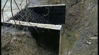 Подтопление больше не грозит в Дагомысе восстановлен ливневый коллектор
