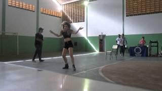 Campeonato de dança . 1° lugar menina dançando Run the World (GIRLS) Beyonce By:Yasmin Holanda