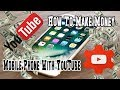 How to make money from YouTube with mobile phone 2018, how to earn money from youtube lesson easy