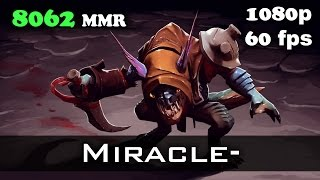 Miracle- Slark 8062 MMR Ranked Match Dota 2