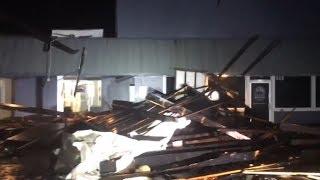 Aux avant-postes de l'ouragan Florence