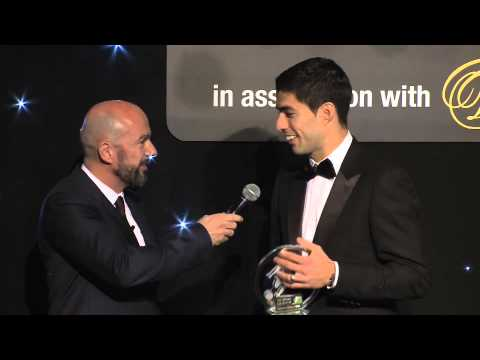 Luis Suarez wins FSF Player of the Year