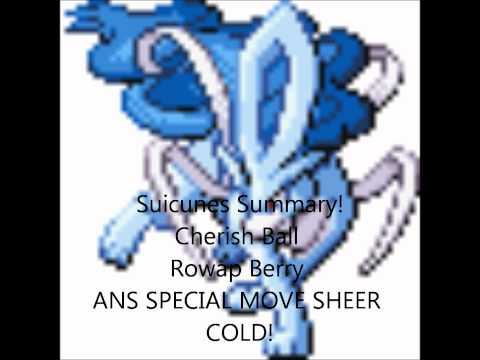 Pokemon HeartGold/SoulSilver Shiny Event Raikou Suicune Entei