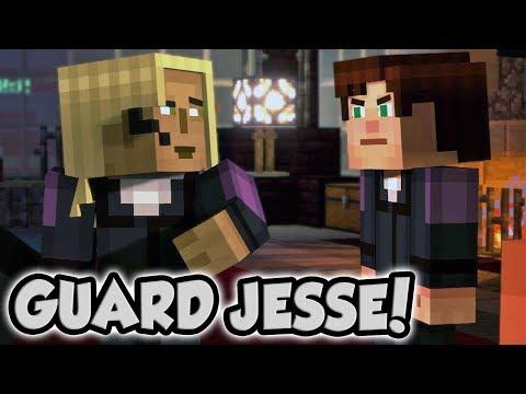 JOINING STELLA AS A GUARD! (Alternate Story Paths)   Minecraft Story Mode: Season 2 - Episode 3
