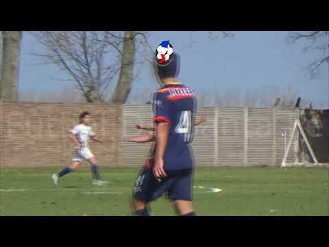 Gol de Lautaro Castillo (parcial La Salle 2 -  Ateneo 0).  Clausura Reserva Atilio Ferronato