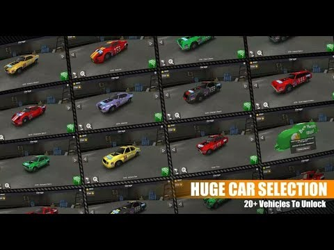 IOS/Android gameplay on Mobile - Circuit: Demolition Derby 2